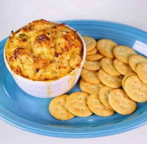WARM CRAB DIP (Adapted from The Chew)