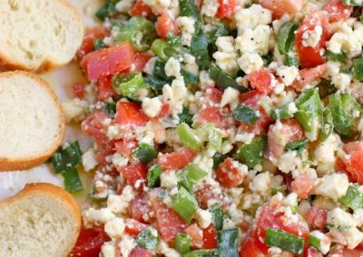 EASY FETA DIP (Adapted from The Girl Who Ate Everything)