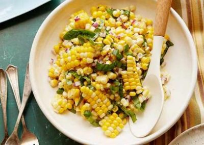 FRESH CORN SALAD (Adapted from Ina Garten)