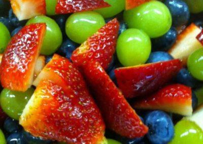 FRUIT SALAD WITH HONEY LIME DRESSING (joy of kosher)