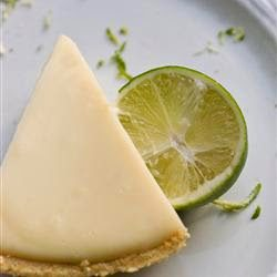 KEY LIME PIE (Adapted from All Recipes)
