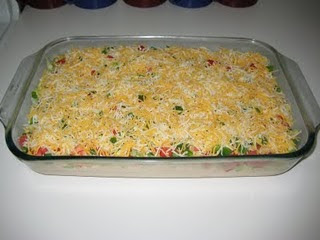 MEXICAN DIP WITH CHIPS