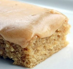 PEANUT BUTTER SHEET CAKE (recipe adapted from Tasty Kitchen)