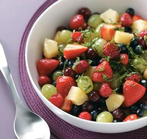 PINA COLADA FRUIT SALAD (Adapted from Taste of Home)