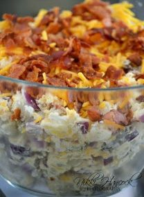 LOADED BAKED POTATO SALAD (Adapted from thisismykeywest)