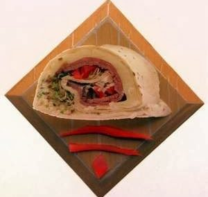 MINI ROAST BEEF WRAPS (Adapted from Detroit Free Press)