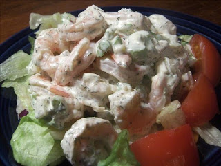 INA'S SHRIMP SALAD (Adapted from Ina Garten)