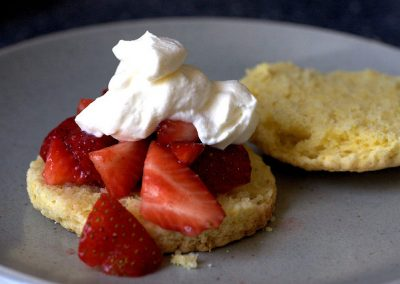 INDIVIDUAL STRAWBERRY SHORTCAKES (Adapted from Smitten Kitchen)