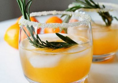 WINTER SUN COCKTAIL (Adapted from Two Tarts)