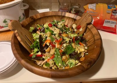 CALIFORNIA SALAD (Adapted from Seaside: Pastels & Pickets cookbook)