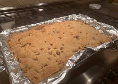 BEST CHOCOLATE CHIP COOKIE BARS (Adapted from Sally's Baking Addiction)