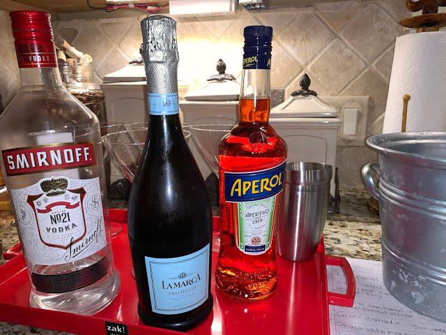 Aperol Spritz Martini