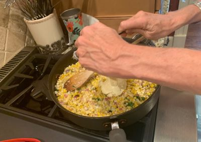 Deconstructed Street Corn  (Adapted from Food Network)